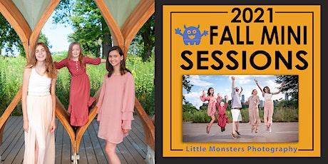 Fall Mini Session - Lincoln Park - 10/3 tickets