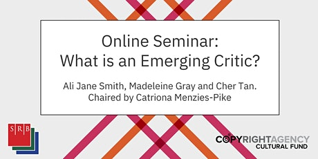What is an Emerging Critic? tickets