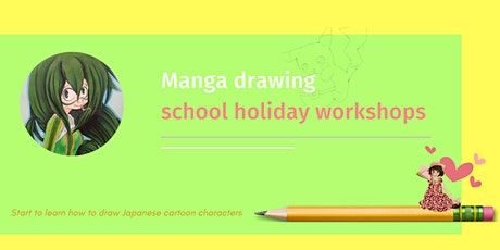 Manga Drawing - Front Face and Facial Expression tickets