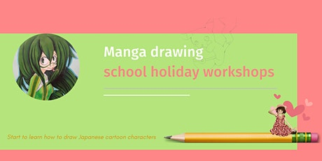 Manga Drawing - Front Face and Body Figure tickets