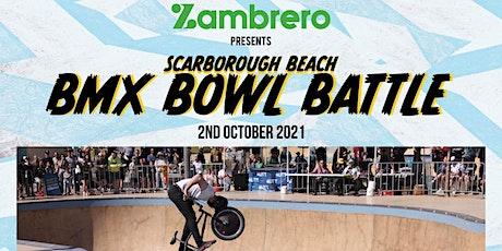 Zambrero BMX bowl battle tickets