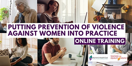 Putting Prevention of Violence Against Women into Practice-online training tickets
