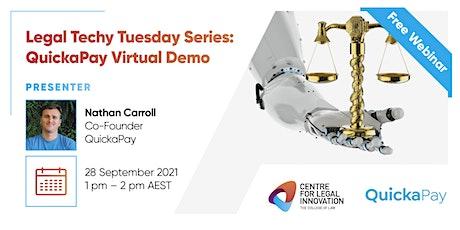 Legal Techy Tuesday Series: QuickaPay Virtual Demo tickets