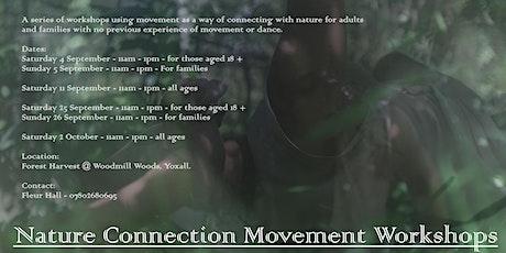 Nature Connection Movement Workshops billets