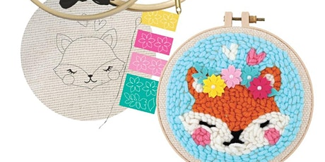 Embroidery Fox tickets
