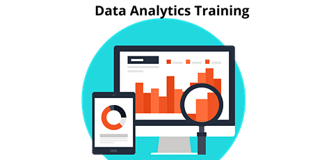 16 Hours Virtual LIVE Online Data Analytics Training Course for Beginners tickets