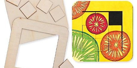 Wooden Sliding Puzzle tickets