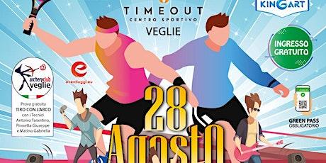 Sport & Music Sabato 28 Agosto al Centro sportivo Timeout di VEGLIE biglietti