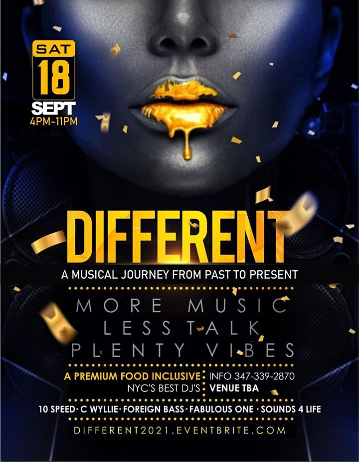 DIFFERENT A MUSICAL JOURNEY FROM PAST TO PRESENT image