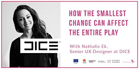 Friday Stories with DICE   Nathalie Ek, Senior UX designer tickets