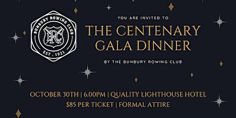 The Bunbury Rowing Club Centenary Gala Dinner tickets