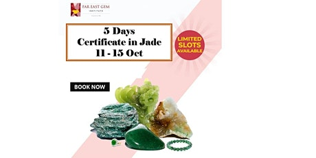 Certificate in Jade (5 Days course) tickets