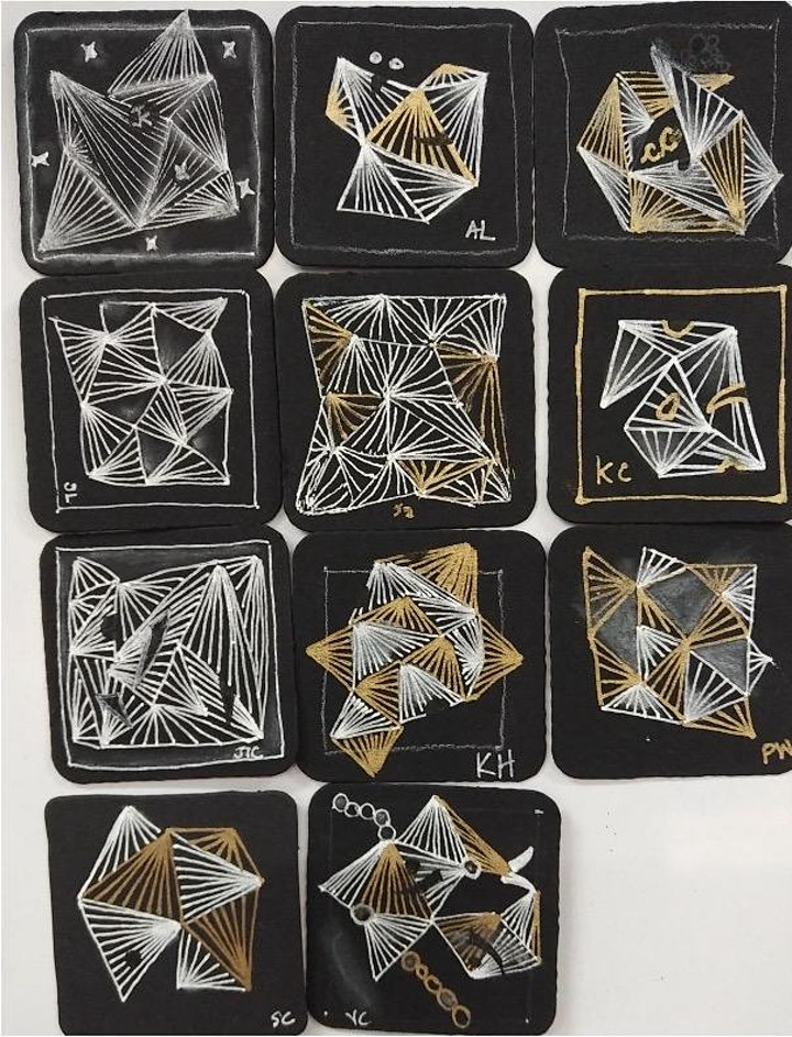 Zentangle Intermediate Course starts Oct 8 (8 Sessions) image