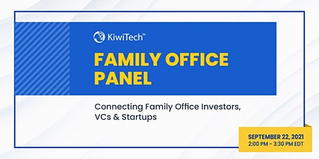 Family Office Panel tickets