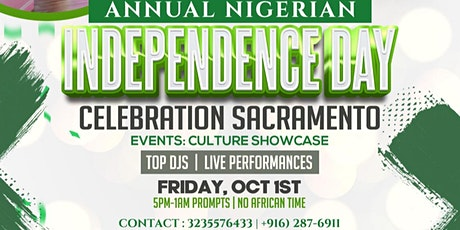 Annual Nigerian Independence Day Party/Welcome Party tickets