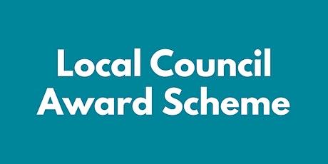 LOCAL COUNCIL AWARD SCHEME — PREPARING AN AWARD-WINNING APPLICATION tickets