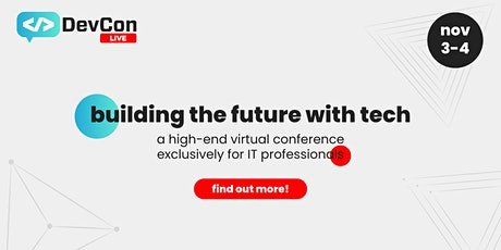 DevCon Live 2021 tickets
