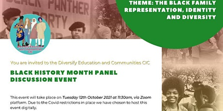 Black History Month Virtual Panel Discussion tickets