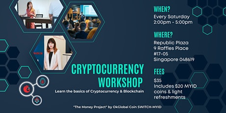 Cryptocurrency 101 Workshop tickets