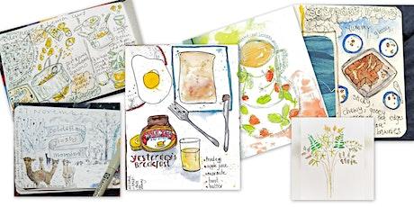 Sketchbook  Journalling 101: illustrate your life tickets