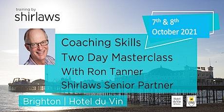 Coaching Skills Masterclass tickets