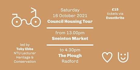 Nottingham Council Housing Tour by Bike tickets
