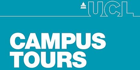 Campus Tours - John Adams Hall & Endsleigh Gardens tickets