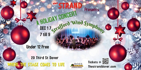 Holiday Concert with Strafford Wind Symphony tickets