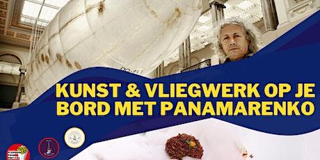 Kunst & vliegwerk op je bord met Panamarenko tickets