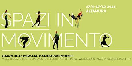 Workshop di danza site-specific con KENJI TAKAGI _ biglietti
