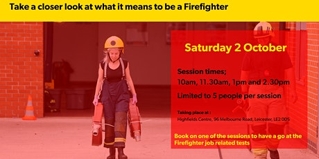 Firefighter  'Have a Go' Day  - BAME Only tickets
