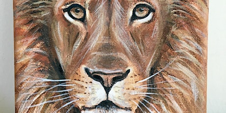 Paint & Prosecco with Nancy : Wild Animals! tickets