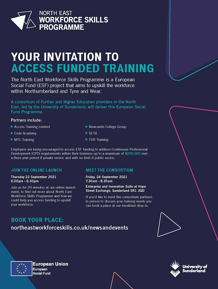 North East Workforce Skills Online Launch Event image