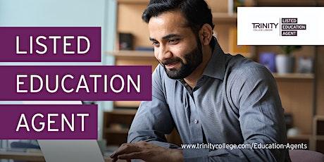 Training webinar for Education Agents (English Language) tickets