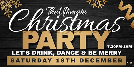 Christmas Party - SML & UKG - Circus Tavern tickets