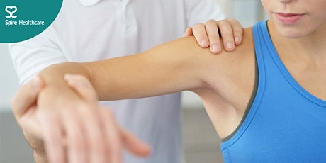 Ask the consultant Orthopaedic - shoulder and elbow: free online event tickets