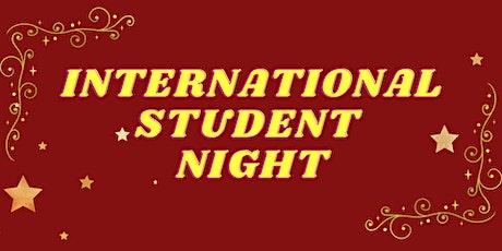 International Student Night 2021 tickets