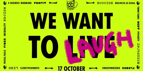 We Want To Laugh - An XR Comedy Fundraiser tickets