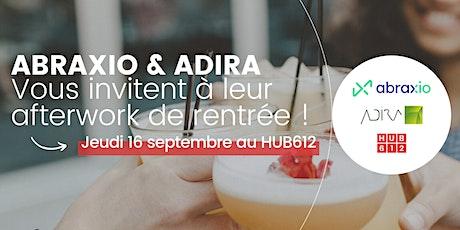 Abraxio & Adira organisent un afterwork de rentrée tickets