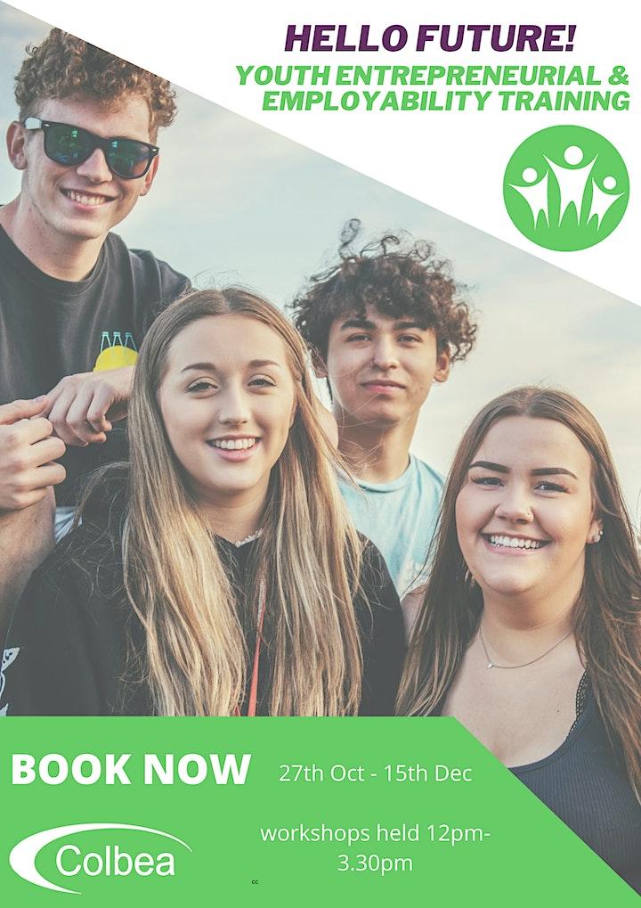 Hello Future! Youth Entrepreneurial & Employability Training - October 21 image