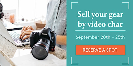 Sell your camera gear (free event) - Virtual event with The Camera Store tickets