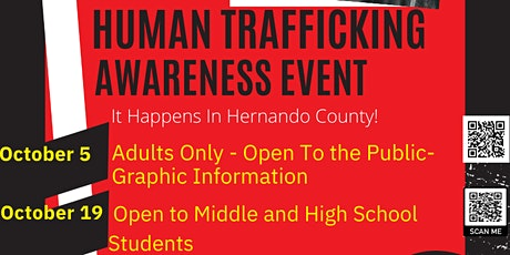 Human Trafficking Awareness Event tickets