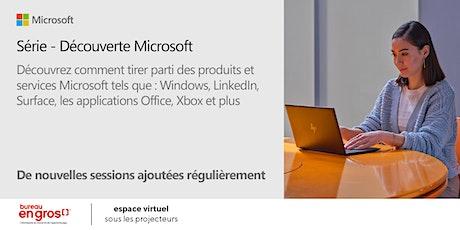 Série Découverte Microsoft billets