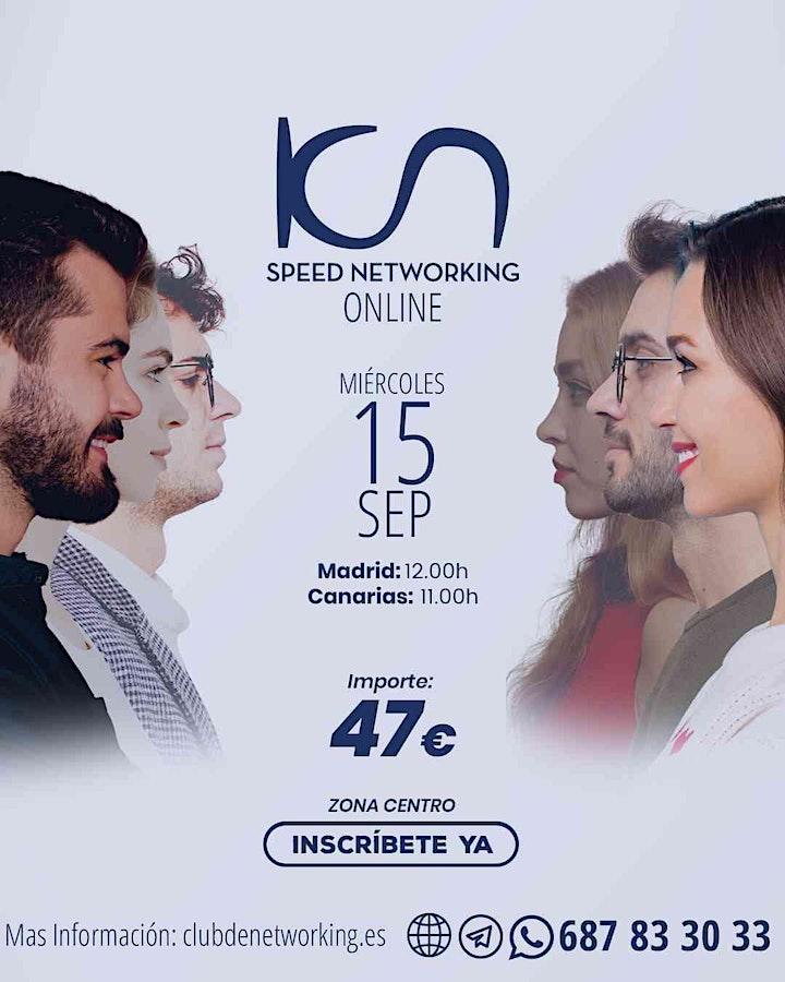 Imagen de KCN Speed Networking Online Zona Centro 15 SEP