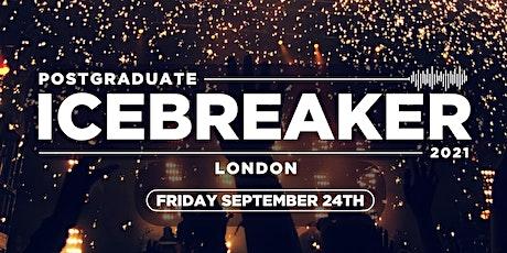 Postgraduate Icebreaker / 2021 tickets