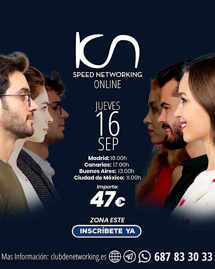 Imagen de KCN Speed Networking Online Zona Centro 16 SEP