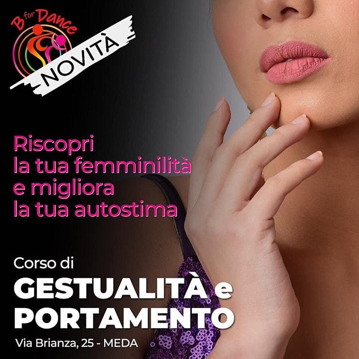 Immagine Corso di Gestualità e Portamento: prenota la prova gratuita 18_9 MEDA 17.00