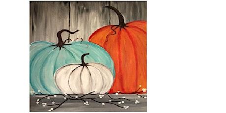 Pumpkin  Time, Paint Night tickets