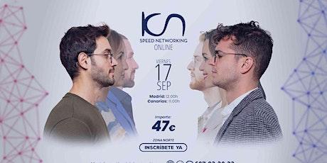KCN Speed Networking Online Zona Norte 17 SEP entradas