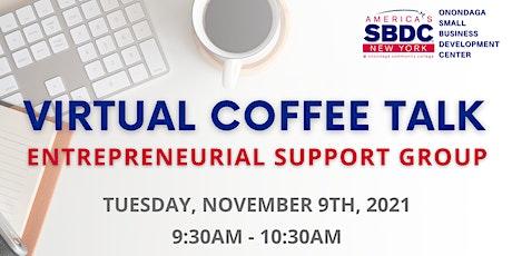 November SBDC Virtual Coffee Talk tickets